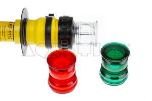 Colorazione Rosso per Strobo di Segnalazione Jotron Morild MF-1112 Foto 2