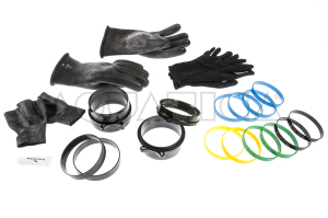 Kit Viking Bayonet Gloves System Guanti Stagni e Anelli Foto 1