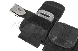 Cintura Porta Zavorra Aquatica Deluxe con Sei Tasche Foto 2